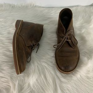 Clark's Brown Chukka Boots Size 9